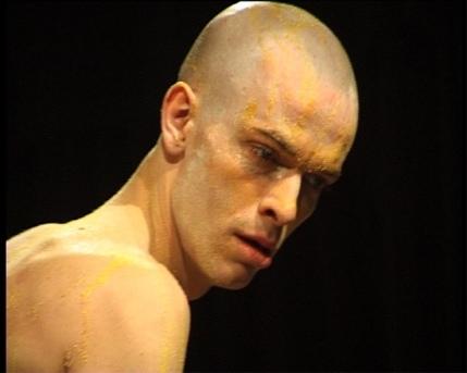 «C» d'après Copi, mise en scène François Orsoni, avec Katarzyna Krotki