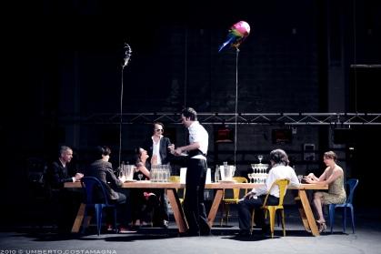 Baal de Bertolt Brecht, mise en scène: François Orsoni, avec Clotilde Hesme, Alban Guyon, Tomas Heuer, Mathieu Genet, Jeanne Tremsal et Estelle Meyer