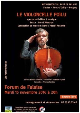 Le Violoncelle Poilu à Falaise